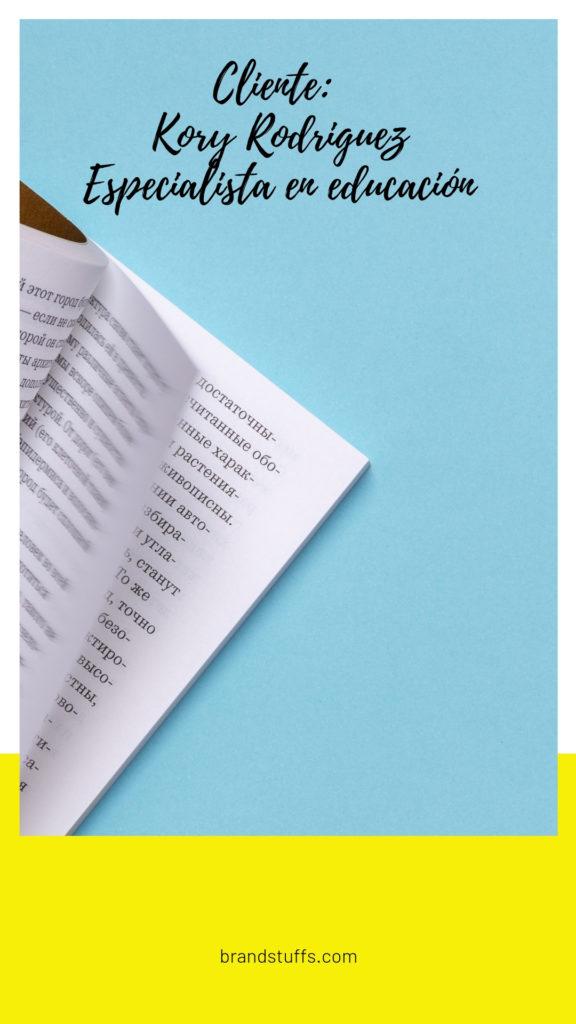 portafolio brand's stuffs de proyectos de kory rodriguez