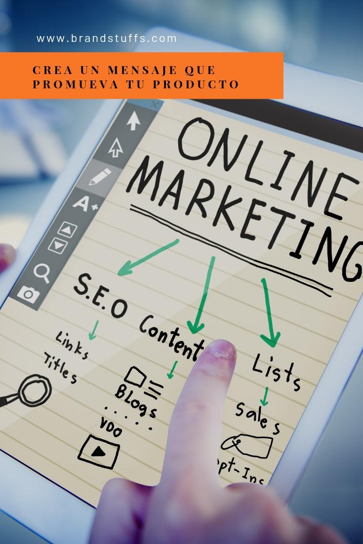 crea el mensaje adecuado de tu producto que impacte en tus clientes